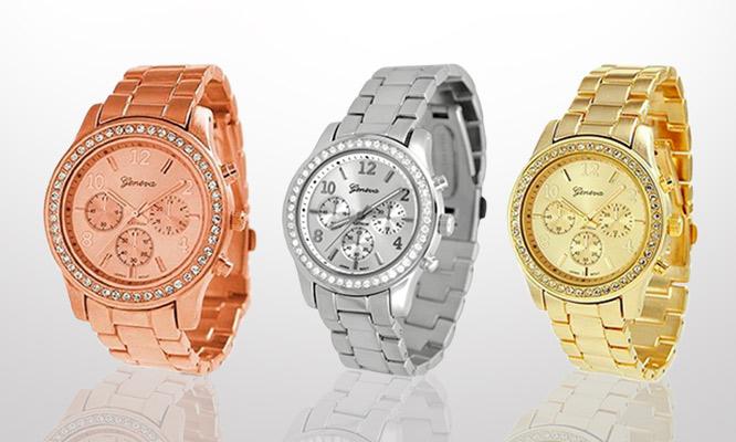 5069334e23ab S .49.99 por lindo y moderno reloj Geneva para dama