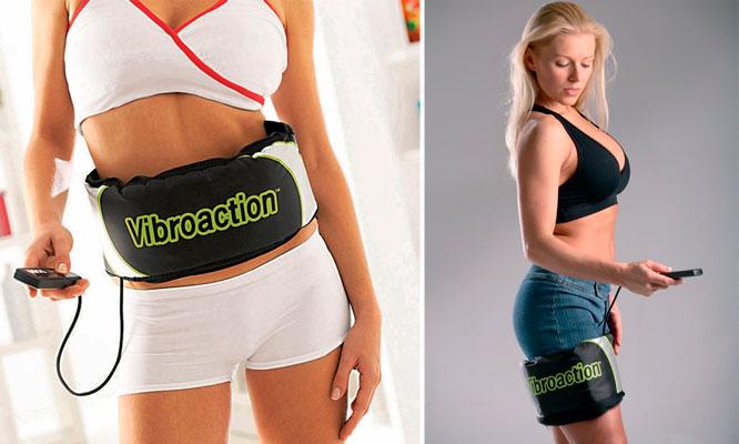 Cinturon reductor y ejercitador Vibroaction