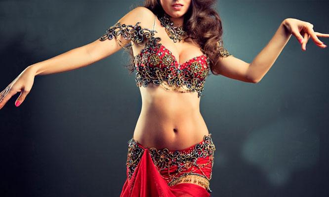 8 o 12 clases de danza arabe