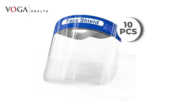 3 Visores de proteccion facial FACE SHIELD delivery de Grupo Pulgar