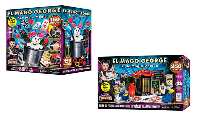 Pack de magia de 2550100 y mas trucos del Mago George