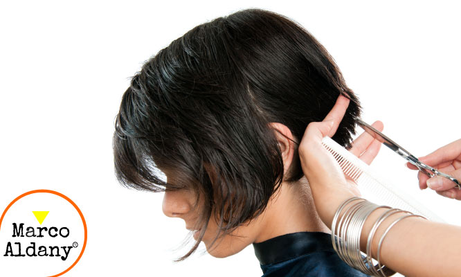Corte de cabello para dama lavado masaje capilar aplicacion aldany