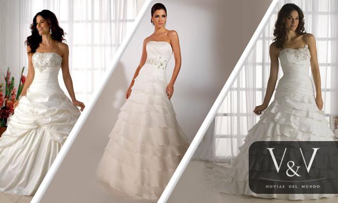 S30 Por Prueba De 6 Vestidos De Novia