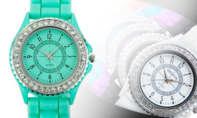 460efc33fc5d S .19.90 por un lindo y moderno reloj Geneva para dama
