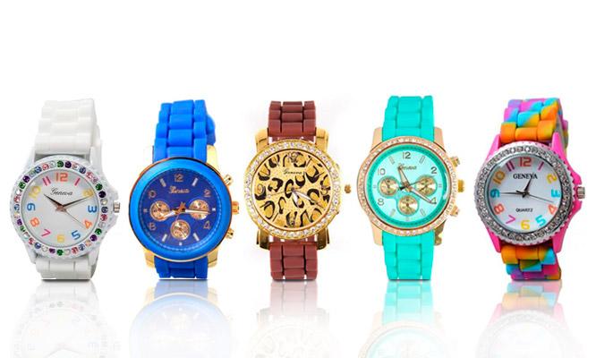 c2e19dcc23f6 S .29.90 por un reloj Geneva para dama