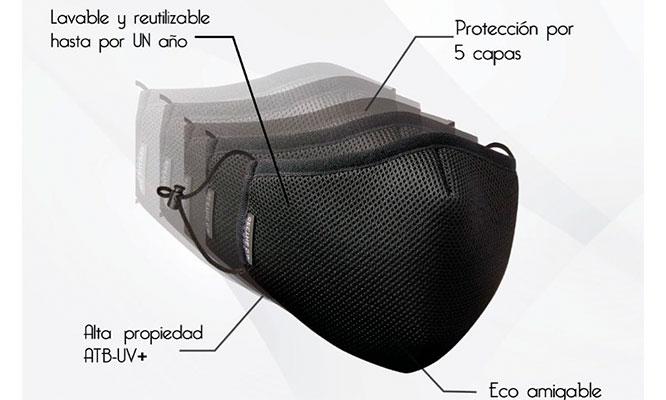 ECO SILVER PLUS original con tejido de plata Lavable y reutilizable ¡Incluye delivery!