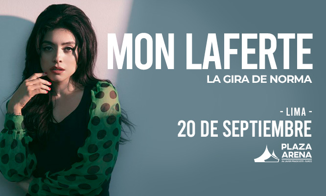Mon Laferte PLaza Arena 20 de septiembre