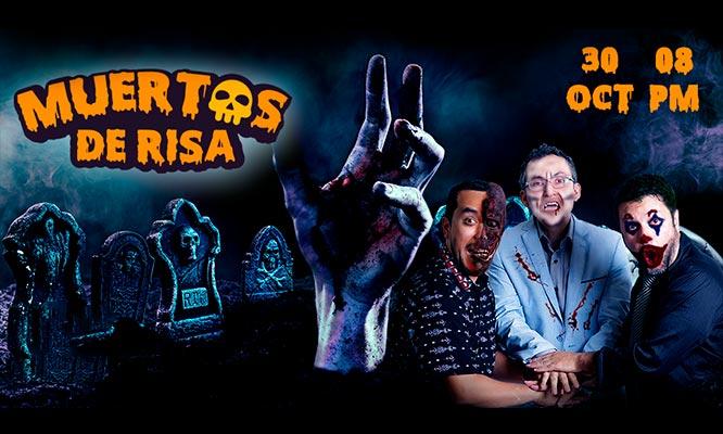 Miraflores 2 entradas para el show MUERTOS DE RISA