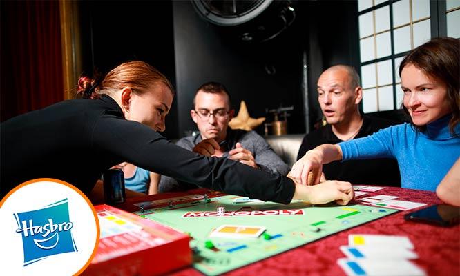 Juego Monopoly Modular Hasbro Games® delivery