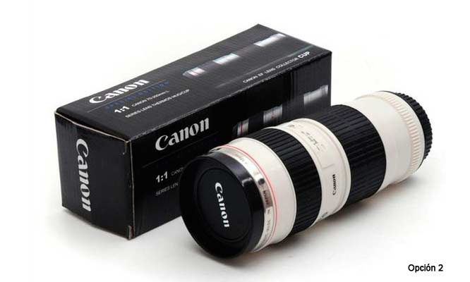 49cc22b2fc Tazas en forma de lente de cámara Mug | Cuponidad