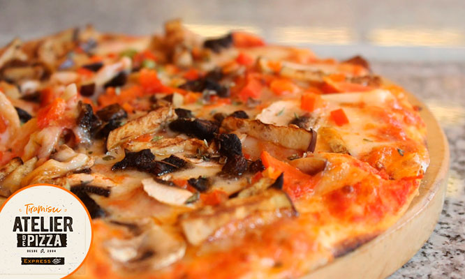 Promo DUO 2 pizzas familiares precocidas delivery incluido*