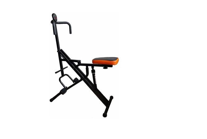 Maquina para Abdominales y Gluteos Sport Fitness color negro