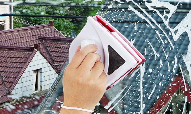 Limpiador de vidrios Magnetico ¡Incluye delivery!