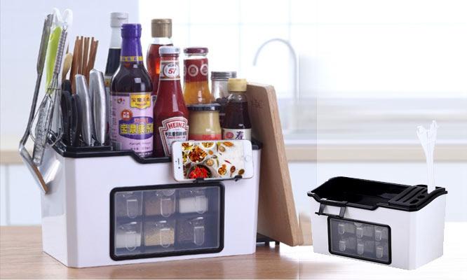 Organizador de Cocina con condimentero color a elegir ¡Incluye delivery!