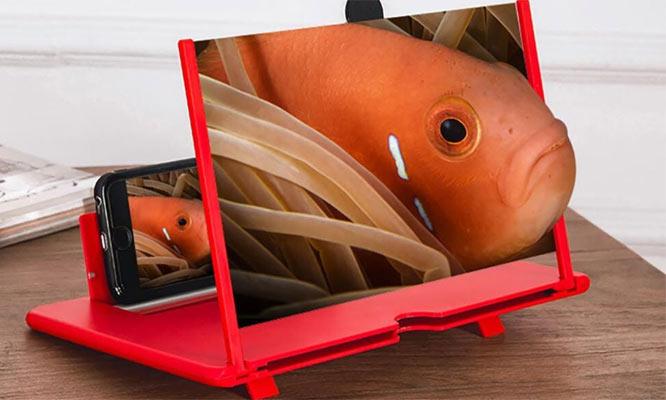 Amplificador de imagen 3D para todo tipo de celulares ¡Incluye delivery!