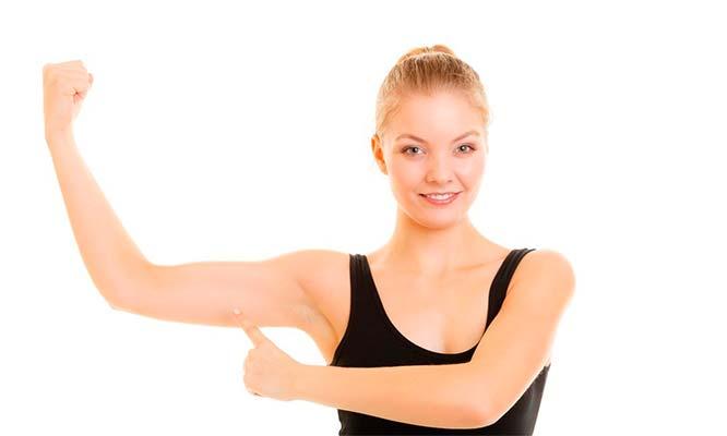 Tratamiento reductor y reafirmante de brazos