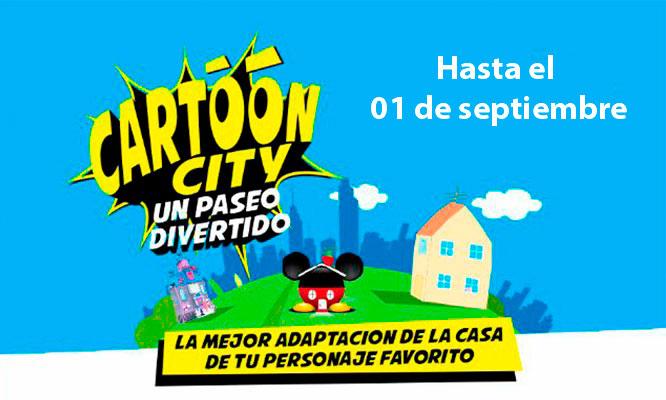 2x1 Entrada general a Cartoon City - Del 15 al 30