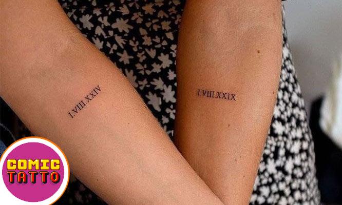 02 Comic tattoo frases hasta 8cm