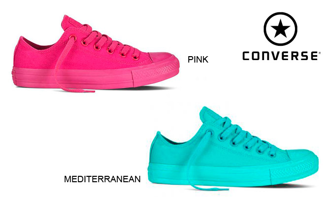 converse mujer colores