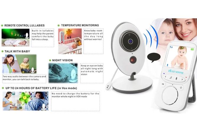 Monitor VB605 Inalambrico Para Bebe audio y video