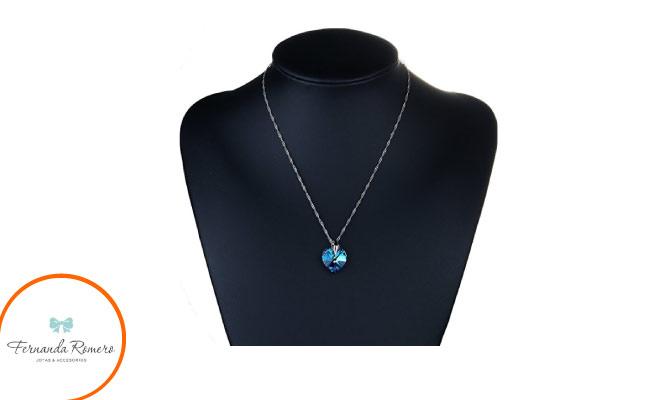 Collar Titanic con cristal swarovski envio gratis