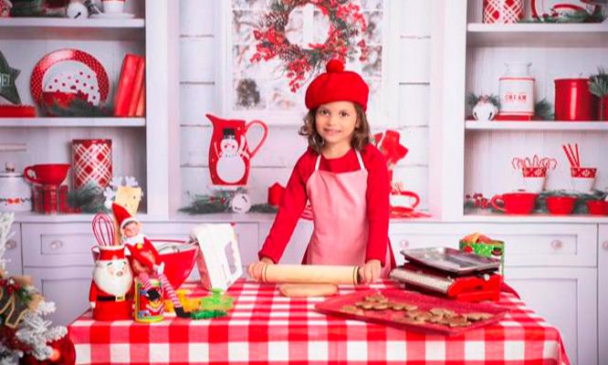 Sesion de fotos navideñas fotos digitales postal navideña