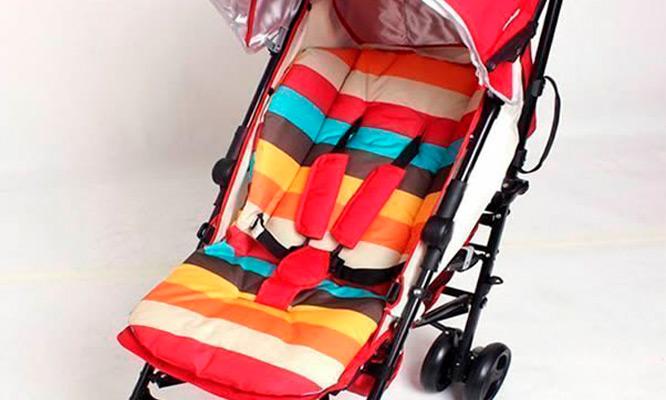 Funda para asiento cochecito de bebe