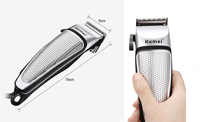 Maquina de cortar cabello peinetas tijera aceite - Kemei ¡Incluye delivery!