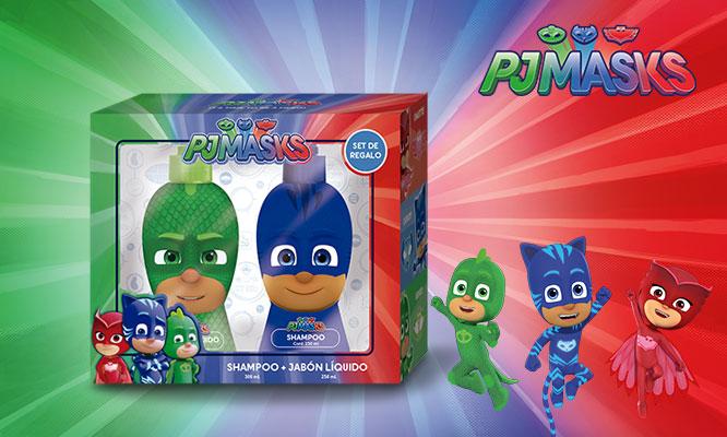 Gift Set PJ Mask con colonia shampoo o jabon liquido ¡Elige el set!