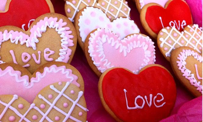 Caja De 12 Galletas Artesanales Y Personalizadas Para San Valentín