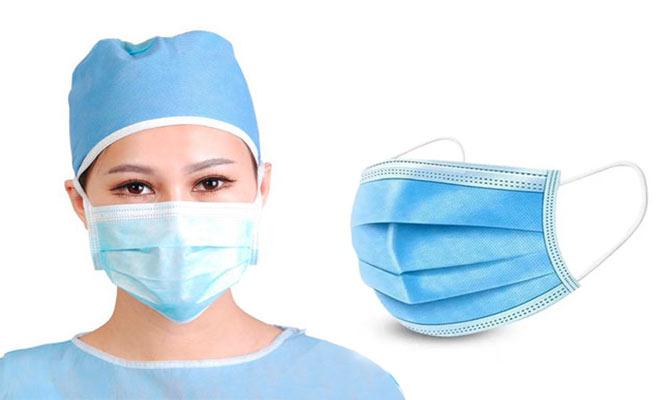SALE 50 unidades caja de mascarillas de 3 pliegues con ajuste nasal ¡Incluye delivery!