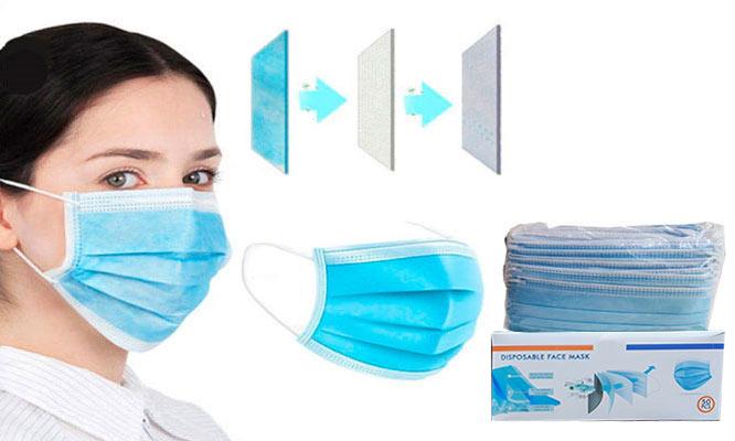 SALE 100 unidades 02 cajas de mascarillas de 3 pls con ajuste nasal ¡Incluye delivery!