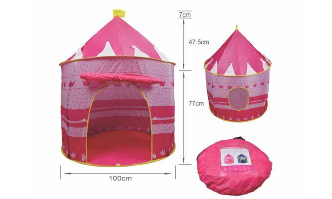 Castillo desarmable de princesa para las mas pequeñas de la casa ¡Incluye delivery!