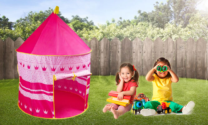 Castillo desarmable de princesa o mago para l@s mas peques ¡Con delivery en 24hrs!