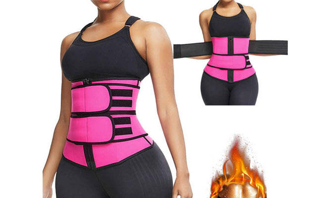 Faja larga reductora de cintura ¡Doble ajuste!¡Con delivery en 24hrs!