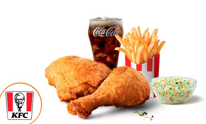 KFC Combo para 12 o 3 con Pollo papas gaseosa ensalada ¡Uso inmediato!