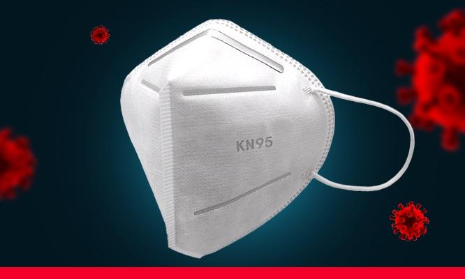 Caja de 10 mascarillas KN95 4 capas con ajuste nasal Incluye delivery en 24 a 48hrs!