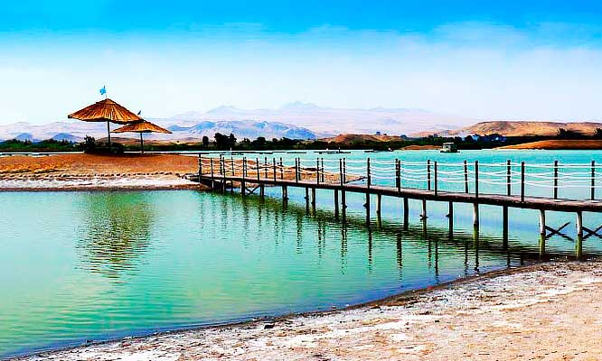 Full day a Laguna Encantada & Playa Paraiso - Huacho y mas