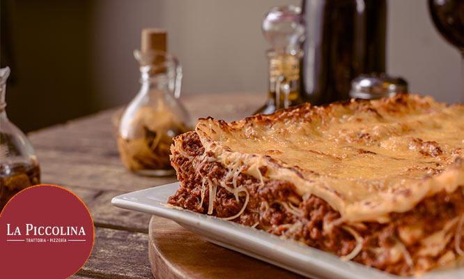 1k de Lasagna Bolognesa o de la casa Chicha morada en ¡Valido en sus 4 locales!