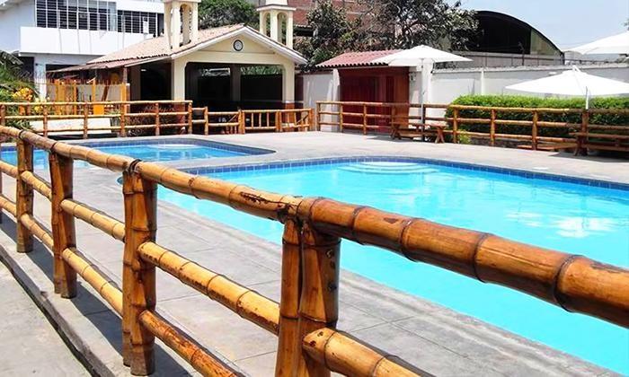 Entrada Pachamanca 4 sabores welcome drinks bebidas acceso a piscina para 2 0 4