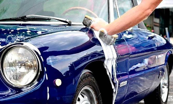 Lavado de salon premium encerado orbital para auto o camioneta