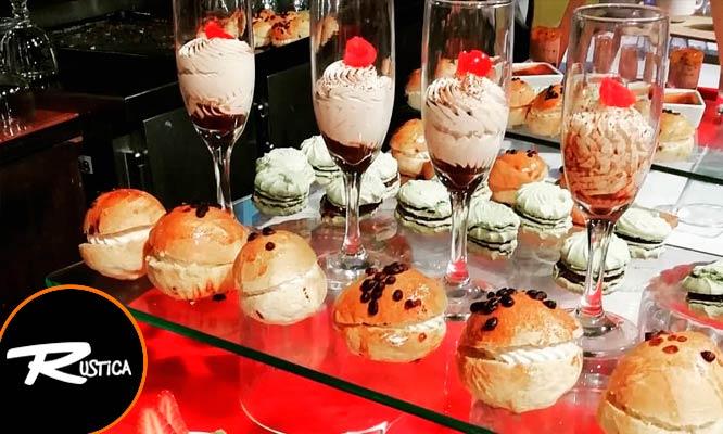 Lonche Buffet Bebidas incluidas ¡Muestra el cupon desde tu celular!