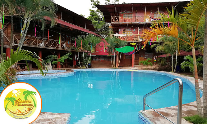 Tarapoto Alojamiento para 2 personas desayunos en Madera Labrada Lodge