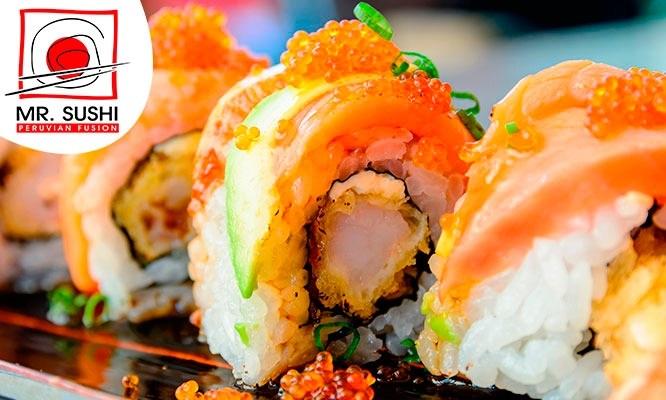 ¡Mr Sushi volvio! Maki Box a eleccion en 14 locales o delivery