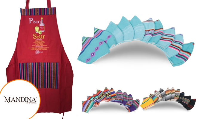 Pack de artesanias con diseño incaico mascarillas mandiles cojines y mas delivery*