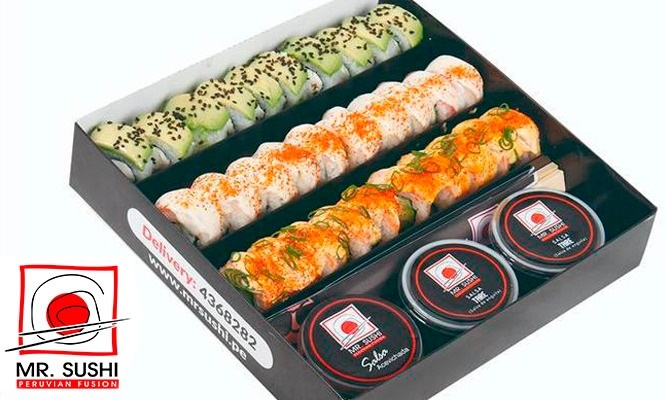 ¡Mr Sushi volvio! Maki Box a eleccion en 14 locales o delivery