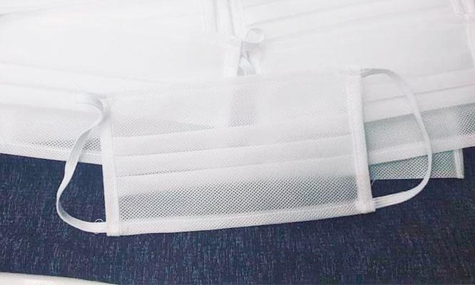 Pack de 100 o 1000 Mascarillas de Notex 80gr Impermeable reutilizables Incluye delivery