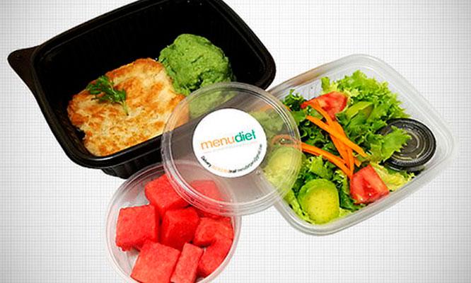 Delivery Almuerzos saludables por 1 mes