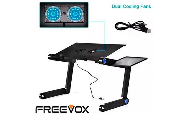 Mesa Para Laptop 2 Cooler Plegable Freevox Incluye delivery