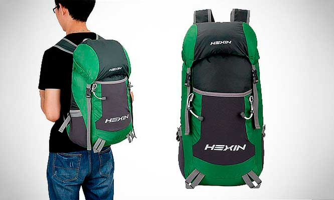 Mochila para excursionismo marca Hexin en colores a eleccion